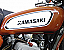 1970 Kawasaki F5 Big Horn Gas Tank Decals