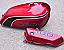 1974 Kawasaki G4TRD Trail Boss- Gas Tank & Oil Tank Decals- Candy Super Red