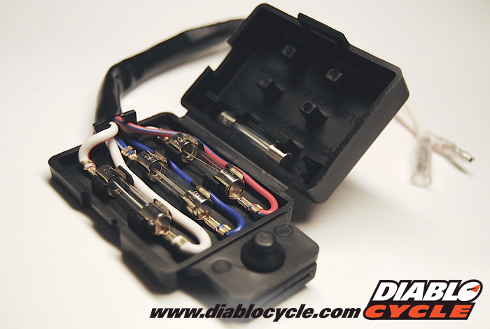 diablo cycle • parts by model • kawasaki fours z1 kz kawasaki kz1000 kz650 kz550 fuse box