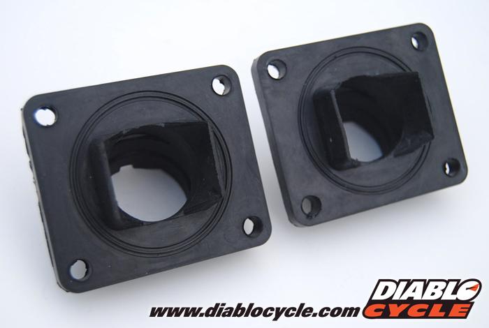 Yamaha RD250, RD350 & RD400 Carb Inlet