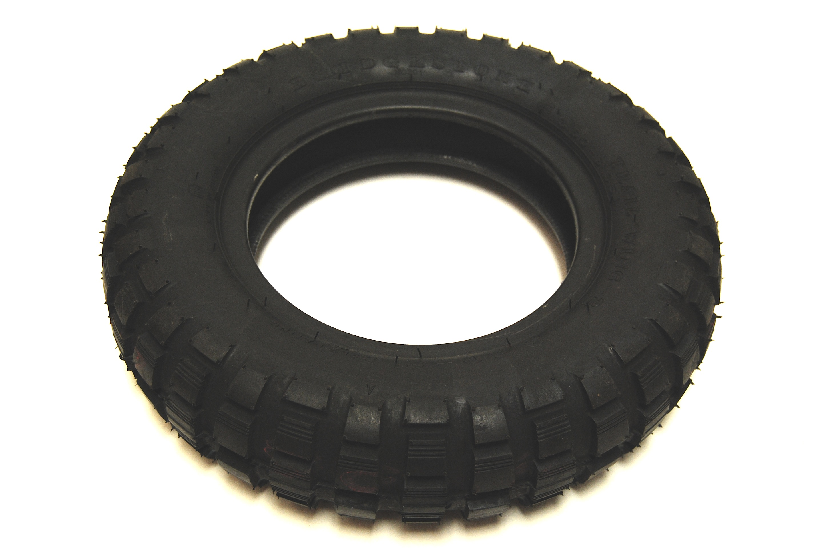 This inner tube is for use on minibike tires as shown in the image.
