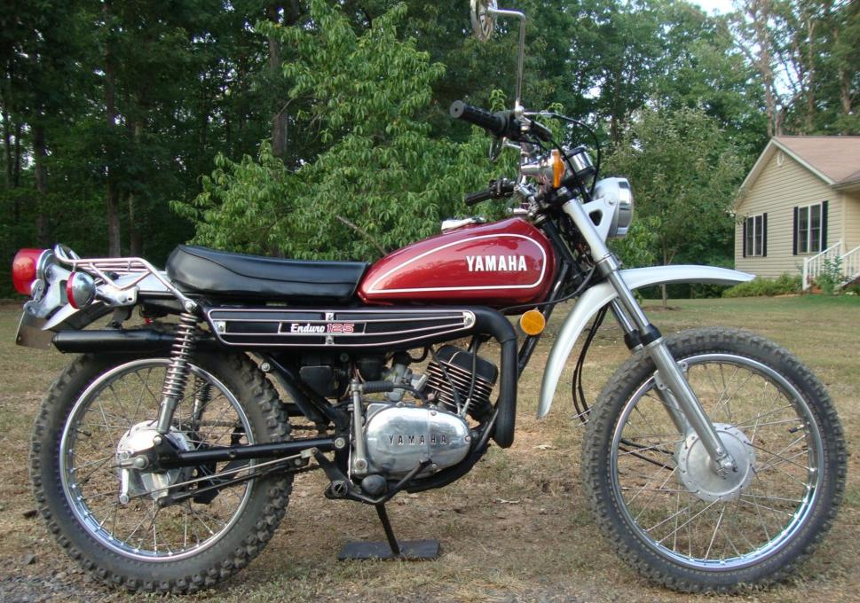 DT125 1974 Complete Decal Set on