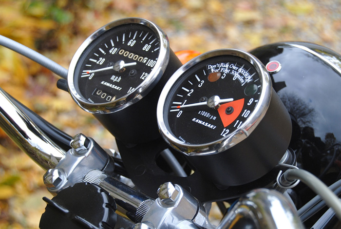 H1 gauges restored with our MPH decals