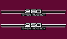 1974 RD250A Side Cover Decals