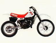 1982 Yamaha YZ100 European Model