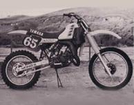 1983 Yamaha YZ125