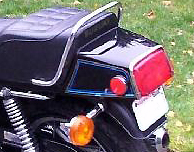 1979 Suzuki GS1000E- Tail Decals