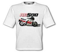 1986 RG500 White T-Shirt