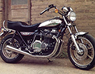 KZ1000 G1-Z1 Classic 1980 Black Complete Decal Set