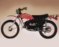 1973 Kawasaki F7B- Red Model