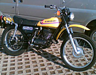 1973 Kawasaki F11 North American Model