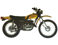 1974 Kawasaki F11A Candy Yellow Model