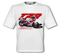 1988 TZR250 White T-Shirt