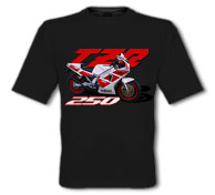 1988 TZR250 Black T-Shirt
