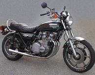 KZ1000 LTD B1 1977 Midnight Blue Complete Decal Set