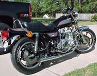 KZ1000 LTD B4 1980 Black Complete Decal Set