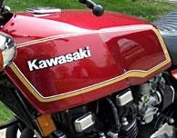 1979 Kawasaki KZ1000 MkII decal set