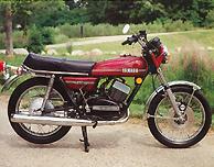 1974 Yamaha RD250A US Model