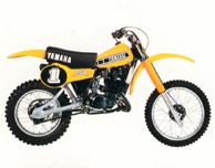 1980 Yamaha YZ250