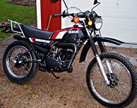 1979 Yamaha DT125MX European Model