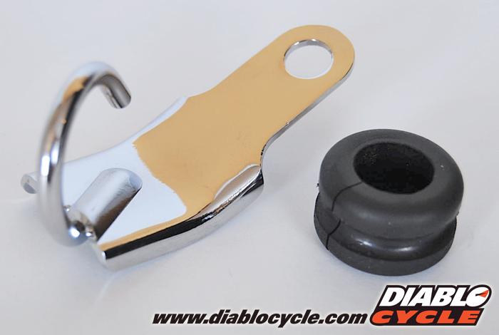 Kawasaki H2, H2A & H1B Brake Hose Bracket