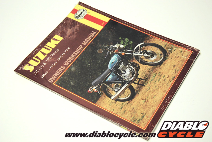 Haynes Repair Manual - Suzuki 2 Stroke Twins - GT125 & GT185