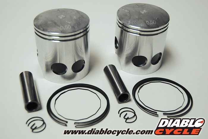 Yamaha RD350 Piston Kit - Standard