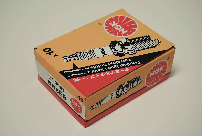 NGK BR8ES Spark Plugs - Box of 10