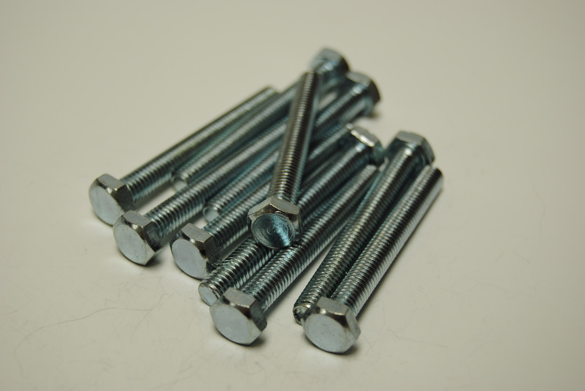 6mm x 50mm Hex Head Bolts - ISO