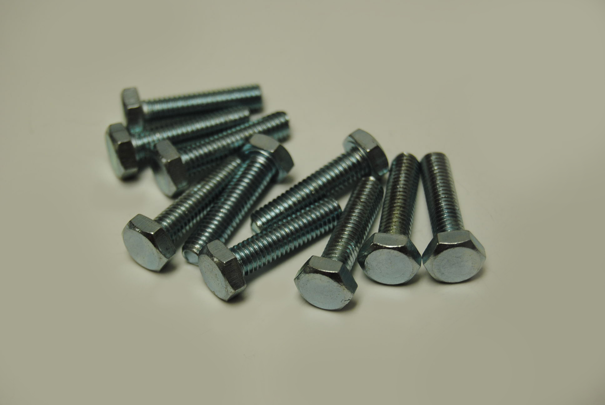 6mm x 25mm Hex Head Bolts - ISO