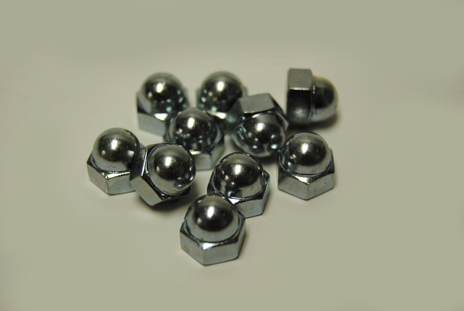 6mm Cap Nuts (Acorn) - ISO