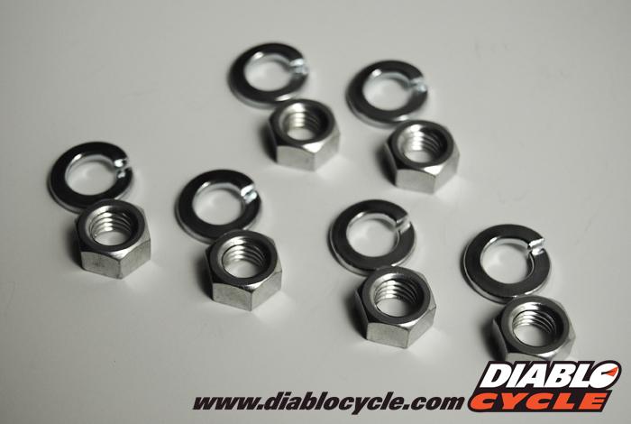 Kawasaki Triples - Carburetor Nut & Washer Set
