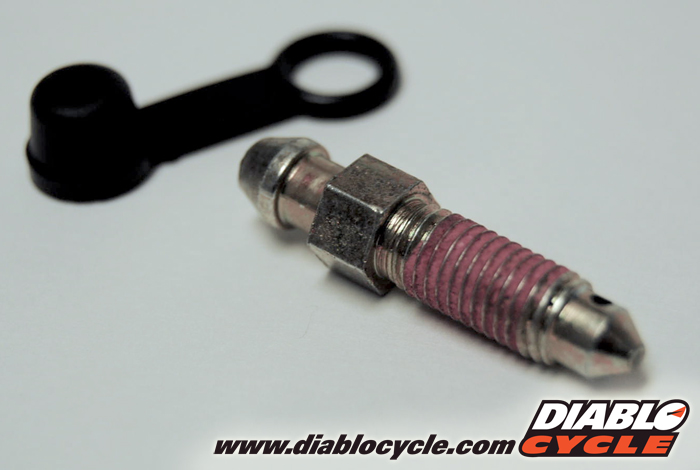 Bleeder Screw Assembly with Cap