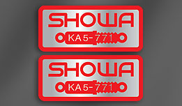 SHOWA KA5-771 Fork Decals
