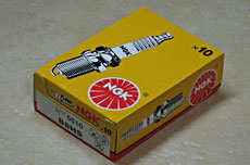 NGK B8HS Spark Plugs - Box of 10