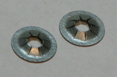 Speed Nuts - Badge mounting - 4mm