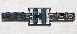 Kawasaki 1972 SS750 Side Panel Badge