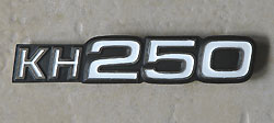 Kawasaki 1976-1978 A5, B1, B2, B3 Side Panel Badge