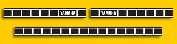 This set of stripes would suit a Tracker, RD or any other Yamaha that ...
