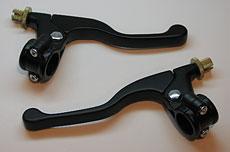 Clutch & Brake Lever Assembly - Black