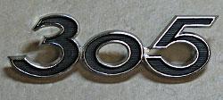 Suzuki 1968-1969 T305 Raider Side Panel Badge