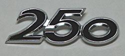 Suzuki 1969 T250 Mk. 1 Side Panel Badge