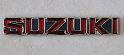 Suzuki 1972-1973 GT550, GT380 & GT250 Fuel Tank Badge