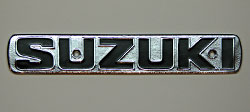 Suzuki 1970-1971 TS & TC Models Fuel Tank Badge
