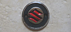 Suzuki 1966-1969 T200, T20, TS250, A100, AS100 & AS50 Fuel Tank Badge