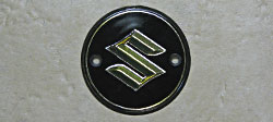 Suzuki 1969 T305 & T125 Fuel Tank Badge