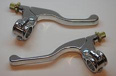 Clutch & Brake Lever Assembly - Polished