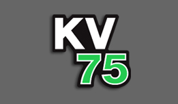 KV75 1979- Oil Tank Decal- White
