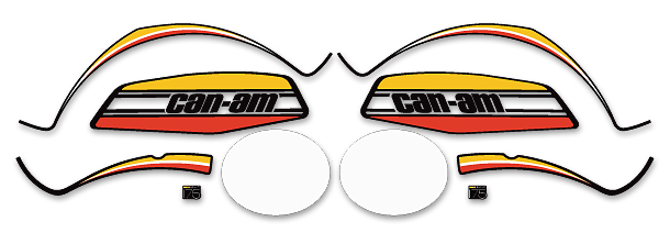 Can-Am MX-2 1973-1976 Complete Decal Set