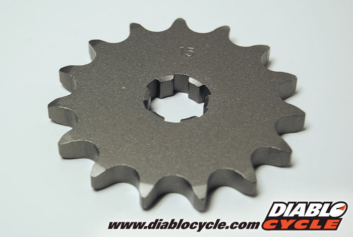 Suzuki T500 & GT500 - 15T Countershaft Sprocket